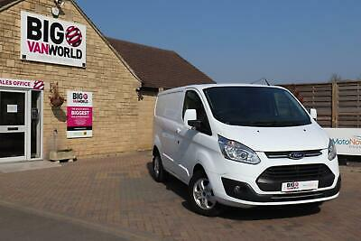 2018 Ford Transit Custom 270 Tdci 130 L1H1 Limited Swb Low Roof Fwd Van Swb Dies