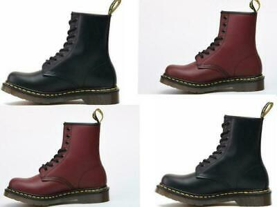 Mens Boots Womens NEw Martens 8-Eye Leather Ankle Classic 1460 Doc Dr Airwair
