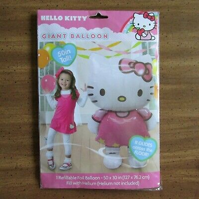 "Hello Kitty Helium Foil Balloon 46/"" BIG HUGE GIANT 115cm X 66cm kids Party Gift#"