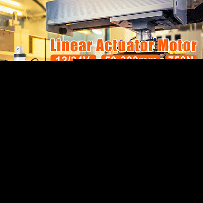 12/24V 30mm/s Linear Actuator 750N 50mm-400mm Electric Wireless Motor Opener #