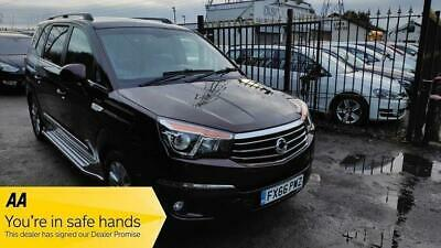 2016 SsangYong Turismo 2.2D ELX T-Tronic 4WD Selectable 5dr