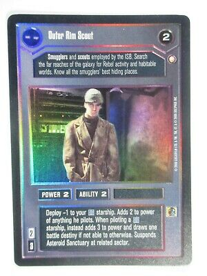 x1 Defiance 2000 Death Star II BB Limited Decipher Star Wars CCG NM//SP