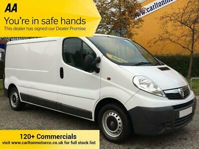 2013/ 63 Vauxhall Vivaro 2.0CDTi 115 LWB [ MOBILE WORKSHOP ] VAN A/Con