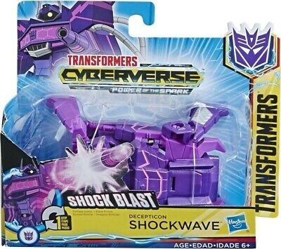NEW Transformers Cyberverse 1 Step Shockwave from Mr Toys