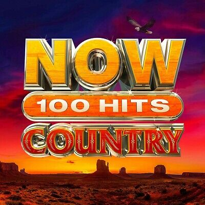Various Now 100 Hits Country CD New Pre Order 13/03/20