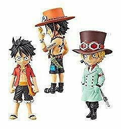 "Movie ""ONE PIECE STAMPEDE"" World Collectible figures vol.3 3 Set"