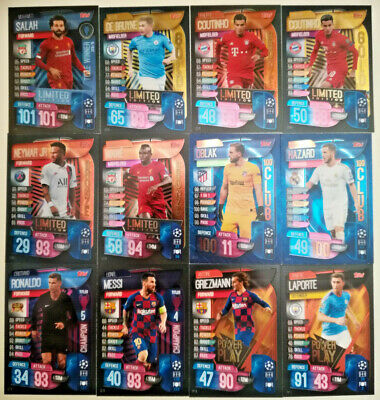 Match Attax Extra 2019/20 Limited Editon 100 club HH hero UEFA Champions League