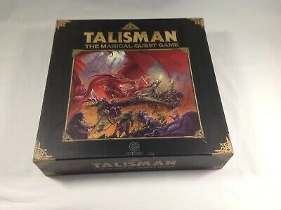 Games Workshop Black Library TALISMAN, The Magical Quest Game 4th Edition 2007