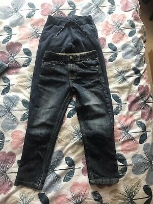 Boys Denim & Co Dark Blue Slim Denim Jeans Age 7-8 Years
