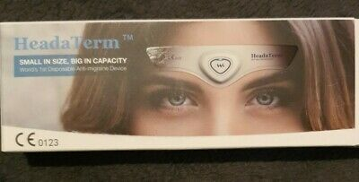 TENS Device-HeadaTerm Migraine Relief Headache Pain Relief - Used once.