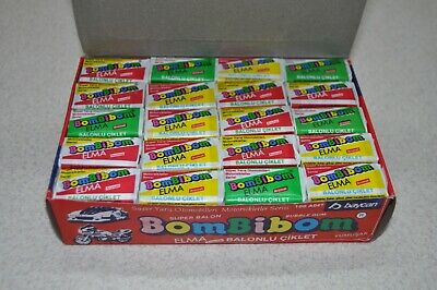 1 Rare Brand New Unopened Bombibom bubble gum 1991 Series №2 HR1