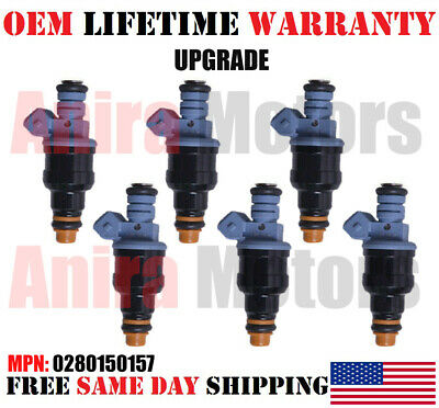 1987-1993 Ford Mustang 2.3L 4cyl Set of 4 Upgrade Bosch Fuel Injectors Lifetime
