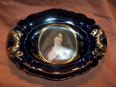 Antique Royal Vienna Hand Painted Porcelain Vintage Royal Vienna Hand Painted