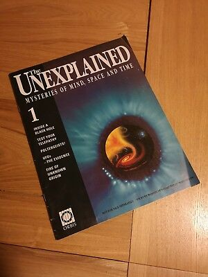 the unexplained mysteries of mind space & time magazines, issue 1