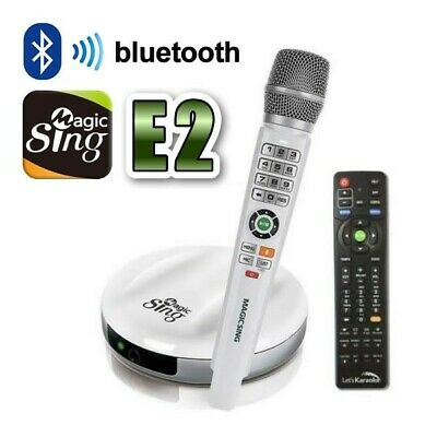 Latest Smart Karaoke Technology - Magic Sing E2