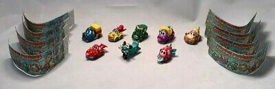 8 German Kinder Toy Cars (Familie Vollgas) Complete Set with Instructions