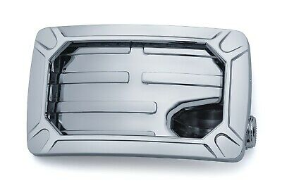 Kuryakyn Nova Horizontal Side Mount License Plate Holder Chrome 3192