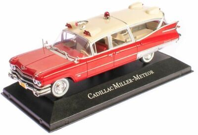 Atlas 'Ambulance' 1:43  1959 CADILLAC SUPERIOR ~ MILLER METEOR..mint n boxed!