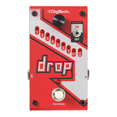 Digitech DROP Compact Polyphonic Drop Tune Pitch-Shifter