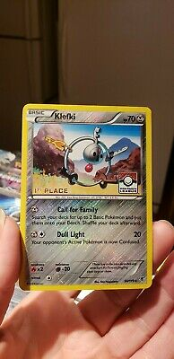 Klefki 4th Place League Challenge Promo Near Mint 66//119 Holo Foil Pokemon
