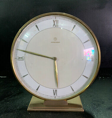 JUNGHANS Mid Century Retro Vintage Mantle Clock Made In Germany