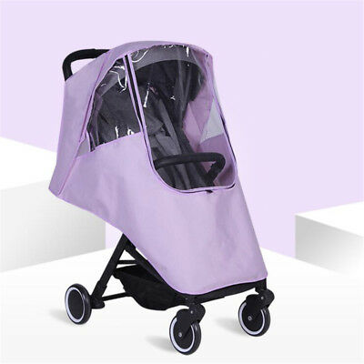 Universal Pushchair Buggy Rain Protect Cover Baby Stroller Pram Wind Shield QK