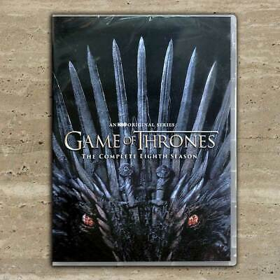 Game of Thrones: Complete Season 8 DVD Free shipping USPS First Class US seller