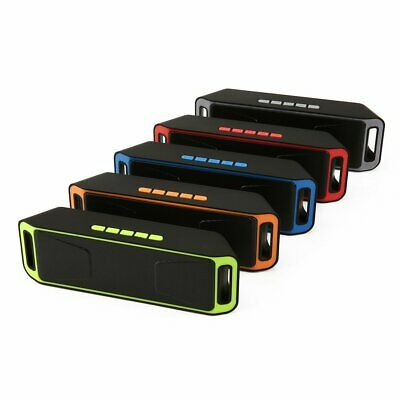 Recharegable Wireless Bluetooth Speaker Portable USB/TF/FM Radio Stereo DR