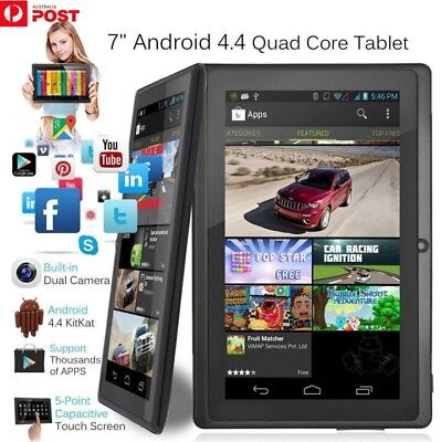 7 Inch Android4.4 Quad Core Dual Camera Tablet 8GB Bluetooth Wifi Tablet Gift ZU