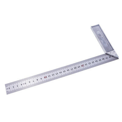 L- Square Stainless Steel 90 Degree Angle Ruler Measurement Tools Durable