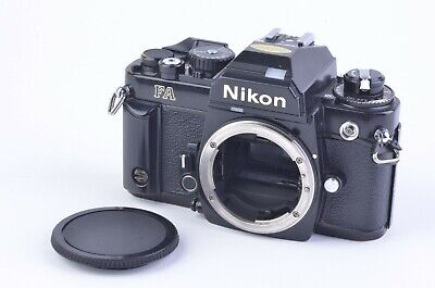 EXC++ NIKON FA 35mm SLR Film BLACK BODY, NEW SEALS, TESTED, ACCURATE, NICE!