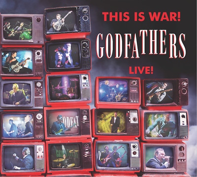 'This Is War! The Godfathers Live!' Plus Free Rare Limited Edition Demos Cd