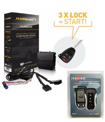 FLRSCH5 R New Flashlogic Plug /& Play Remote Start for Ram 2007-2009