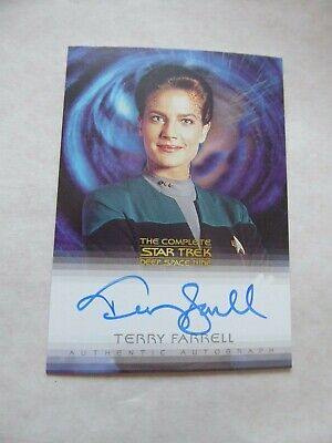 Complete Deep Space Nine DS9  A13 - Terry Farrell  -Dax  Autograph Card