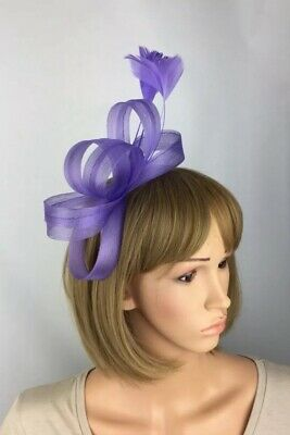 Pale Purple Fascinator Wedding Hatinator Mother Of The Bride Ascot Races Pillbox