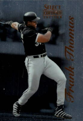 1996 Select Certified #1 Frank Thomas (BUY 10=FREE S/H)