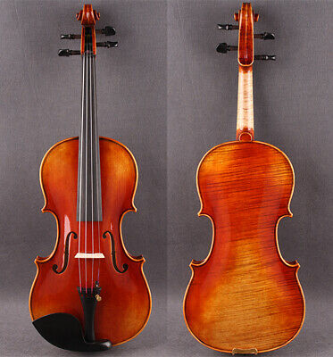 Antonio Stradivari Copy,One-Piece Hand Made&Varnished Violin,Deep Strong Tone