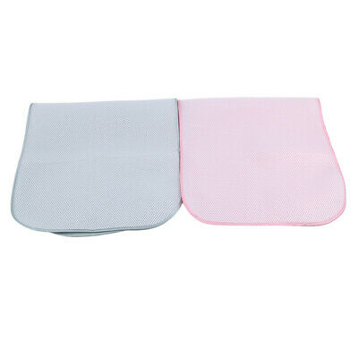 Newborn Baby Crib Mat Washable Urine Bed Pad Absorbent Underpads Reusable Pad QK