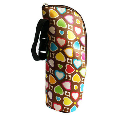 Travel Portable Hanging Baby Stroller Milk Bottle Warmer Insulated Thermal Bag