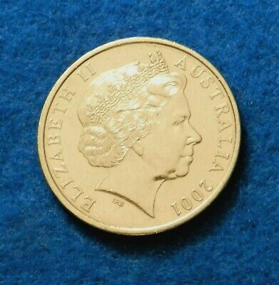 2001 Australia 20 Cents - Beautiful Full Luster Coin - See PICS