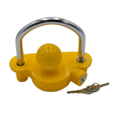 High Quality Security Caravan Trailer Hitch Coupling Tow Ball Lock Universal