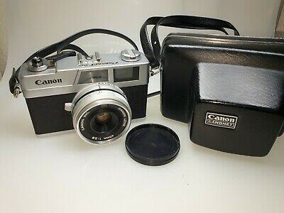 Canon Canonet 28 m. 40mm 1:2,8 Optik