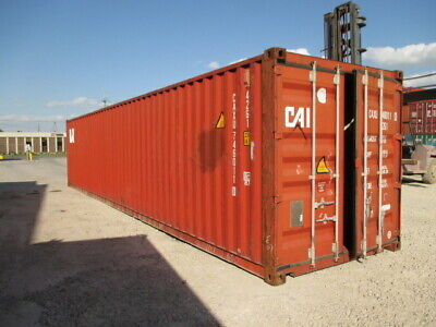 Used Shipping / Storage Containers 40ft WWT Savannah, GA $1700