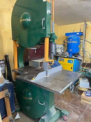 """Tannewitz GH 36"""" Band saw Bandsaws 20″underguide Bearings, Press-on wheels, wood"""