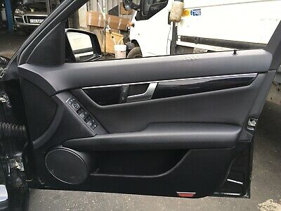 2014 Mercedes C200 W204 Front Door Card Right Driver Side