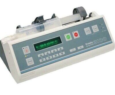 Graseby 3100 Syringe PumpConvenience and Control IV driver