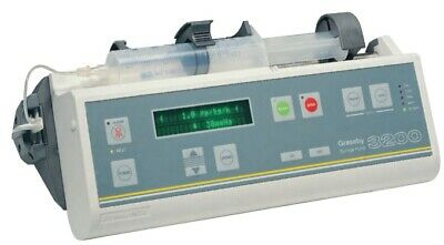 Graseby 3200 Syringe PumpConvenience and Control IV driver