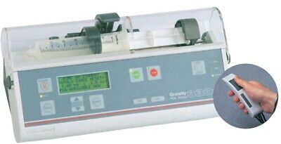 Graseby 3300 Syringe Pumpwith key driver PCA button patient