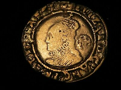 Great Britain England 1587 SixPence 6 Pence Silver Coin VF+ Elizabeth I S-2578A