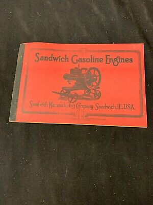 Vintage Sandwich Gasoline Engine Illinois Catalog